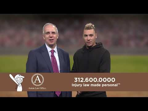 Javier Baez of the Chicago Cubs endorsing the Ankin Law