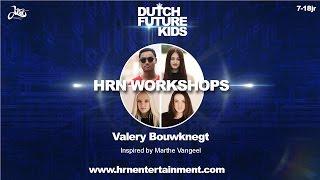 VALERY BOUWKNEGT (Solo) | Konshens - Turn Up | Dutch Future Kids