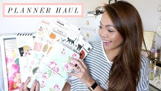HUGE Planner & Planner Accessories HAUL!