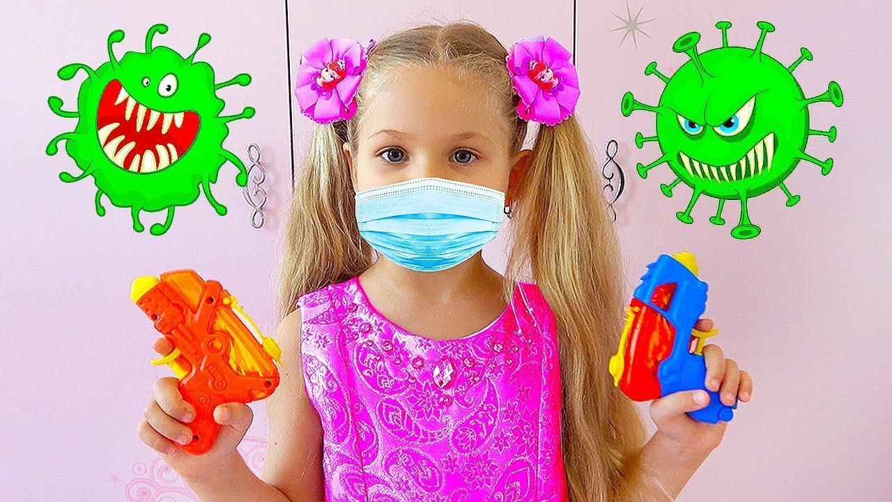 ديانا وروما - قصة أخلاقية عن الفيروسات والنظافة في المنزل