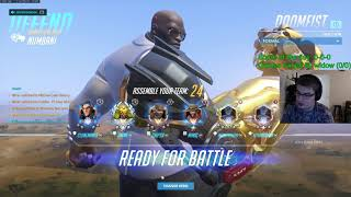 Overwatch Toxic Doomfist God Chipsa Is Back -Unlucky Game-