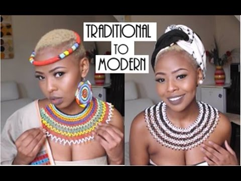 Traditional African Outfits with a Modern Twist [South African Youtuber]