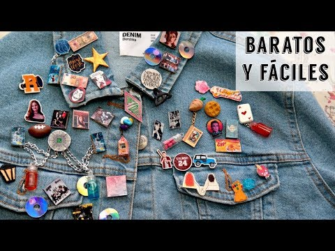 DIY Pins Fandom / +30 Ideas Originales   Ame Mayén