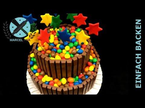 Schokoladenkuchen Kit Kat Torte Mit M M S Youtube