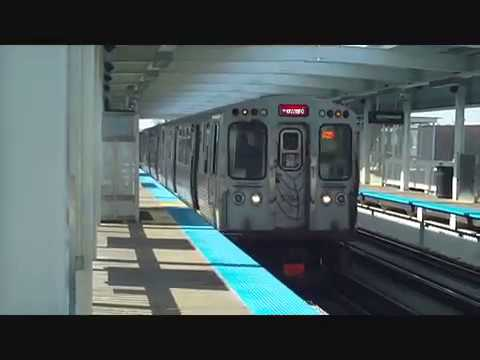 CTA Red Line train reroute along Green Line