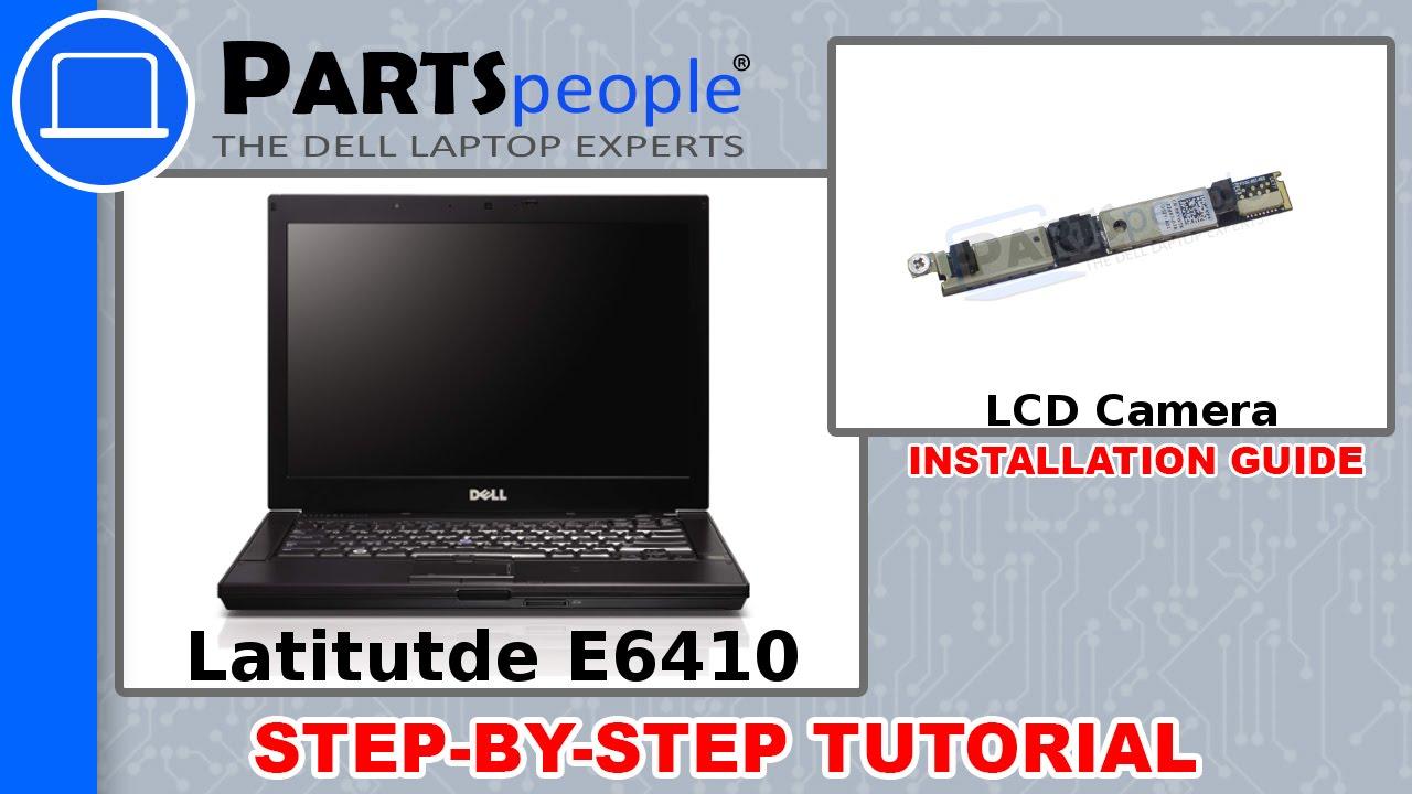 DELL LATITUDE E6410 WEBCAM DRIVERS FOR MAC DOWNLOAD