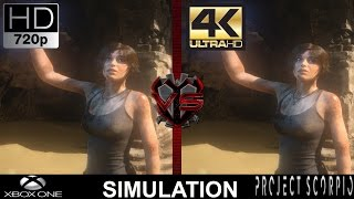 720P VS 4K Gaming | Xbox One VS Project Scorpio Simulation | GTX 1080 | i7 5960X 4.5GHz