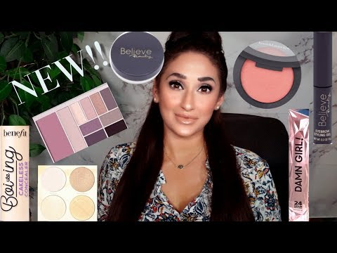 NEW SMASHBOX BB CREAM REVIEW + NEW DRUGSTORE AND HIGH END MAKEUP! thumbnail
