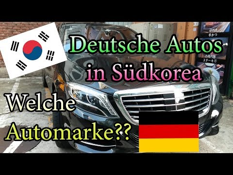 Deutsche Autos in Korea / Seoul, Südkorea / Was fahren Koreaner? / deutsch Auto German car