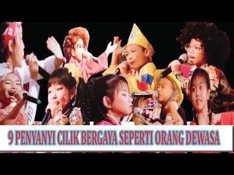 Download 9 PENYANYI CILIK TERBAIK /best child singer /melhor cantora infantil /最佳儿童歌手