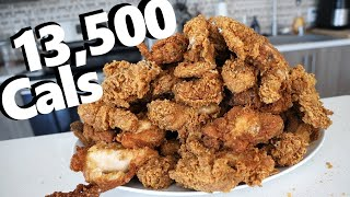 Mountain of Extra Crispy Fried Chicken Challenge (13,500 Calories)