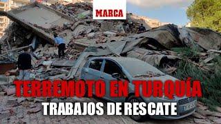 TERREMOTO EN TURQUÍA: trabajos de rescate I DIRECTO
