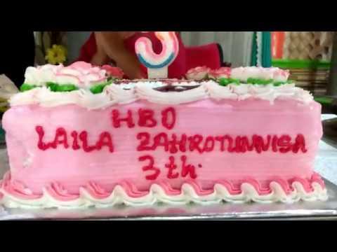 Selamat Ulang Tahun Laila Zahrotunnisa