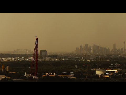 Sydney wakes to dust storm fallout