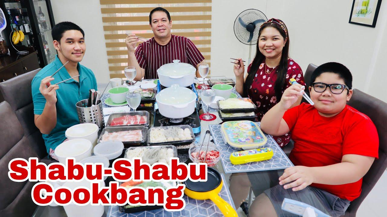 Comfort food for a rainy day    Hot Pot at Home   Healthy Shabu-Shabu Cookbang   Rubia Family