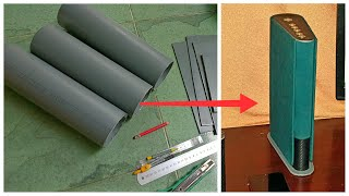 DIY bluetooth speaker DIY chế loa bluetooth từ ống nước PVC.