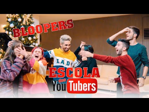 ESCOLA DOS YOUTUBERS | NATAL Bloopers | SOUSA