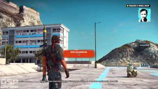 Just Cause 3 playthrough pt3 - Scooter Thief/Time For MASS Destruction!