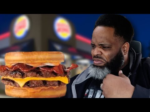 Burger King Sourdough King with BACON