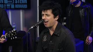 Green Day - Revolution Radio (Live on Howard Stern Show, 2016)