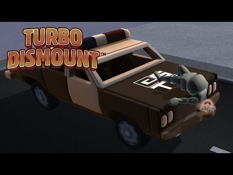 I CRASHED A POLICE CAR! Turbo Dismount | Steam Game
