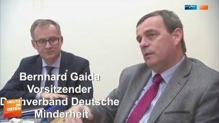 Gaida: Gesellschaftliche Stimmung gegen nationale Minderheiten in der Republik Polen