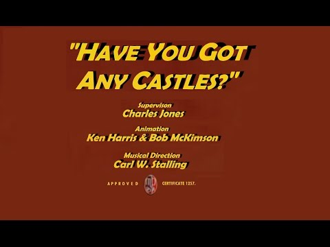 """Have You Got Any Castles?"" (1938) - recreation titles"