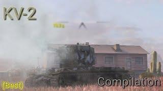 KV-2 Compilation #13 - WoT Blitz