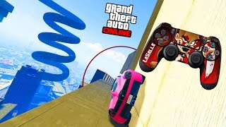 COURSE SANS TOUCHER LA MANETTE ? (R2 RACE) - GTA 5 ONLINE thumbnail