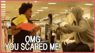 Human Mannequin Scare Prank with JouleTheif