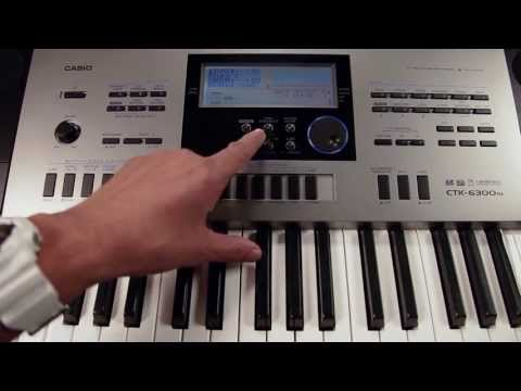 Casio CTK 6300 Indian Electronic Music Keyboard Overview