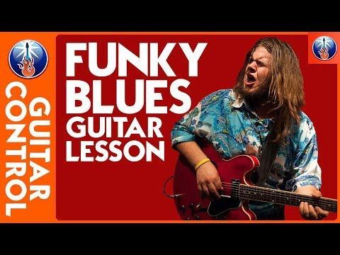 Blues Guitar Lesson - Funky Blues Rhythms Chords with Jonathon Boogie Long