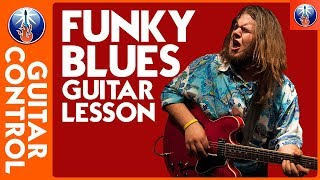 Blues Guitar Lesson - Funky Blues Rhythms with Jonathon Boogie Long - Blues Guitar Chords
