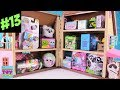 Blind Bag Dollhouse #13 Disney Slitherio Baby Secrets Shopkins BFFS Toy Review   PSToyReviews