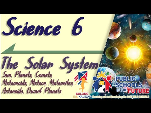 THE SOLAR SYSTEM | Members of the Solar System | Science 6 | K12 Lesson | by Sir C.G.