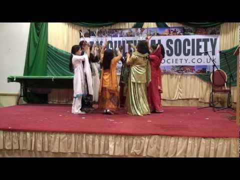 PCS-PakDay2012-Girls performance on Main ne tumari ghagar se.MTS