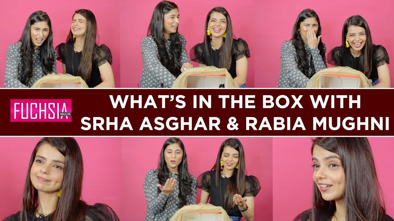 Srha Asghar & Rabia Mughni   What's in the Box   Akhir Kab Tak   FUCHSIA
