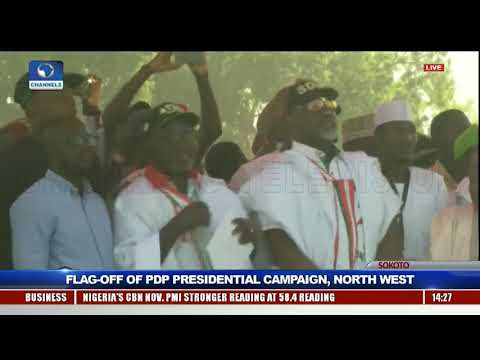 PDP Launches Presidential Campaign In Sokoto Pt.2 |Live Event|