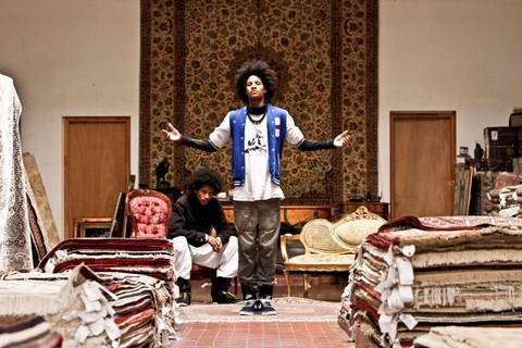 LES TWINS Rug Dealers Mt Eden Dubstep  YAK FILMS New Style