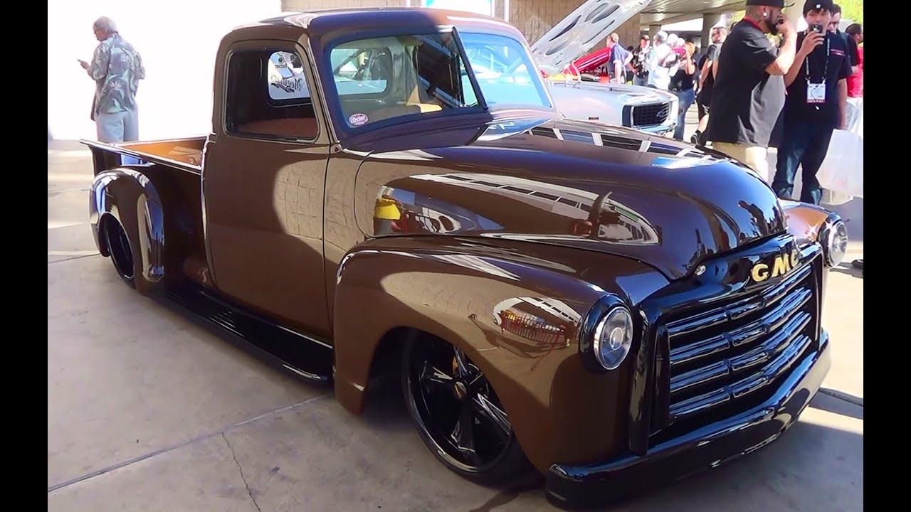 1953 Chevy Truck Patina Wiring Diagrams 1949 5 Window 1952 Gmc Street Sema 2014 Youtube 1959