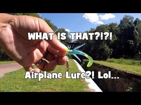 AIRPLANE SHAPED LURE?! MTB Panfish Slam GONE WRONG!!! (Yardley, PA)