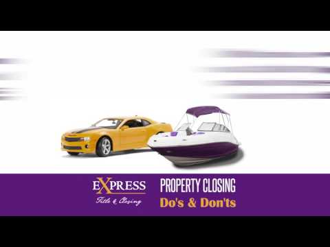 Express Title Property Closing