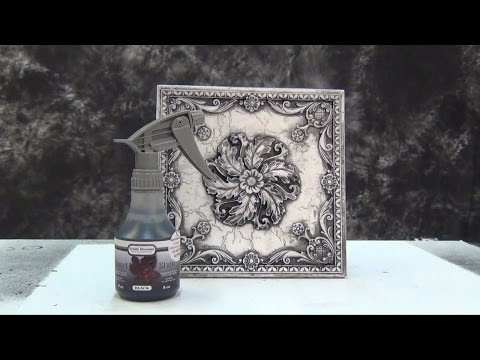Resin Casting Tutorial: Antique Marble Finish