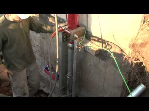 Solutions for Sinking Foundations | Doug Lacey's Basement