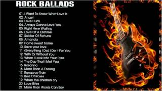 Greatest Slow Rock Songs --  Besk Balladst Compilation Album Slow Rock --  Mega Roc | B2.Mu