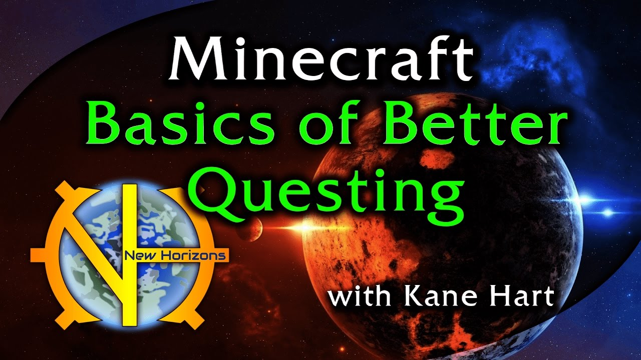 Basics of Better Questing in GT New Horizons!