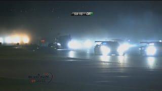 Blancpain Sprint Series 2017. QR Misano World Circuit Marco Simoncelli. Massive Pile Up