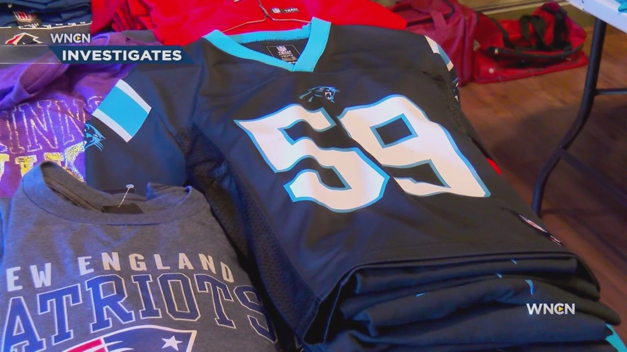 huge selection of df2b2 22900 Counterfeit Carolina Panthers gear not always easy to spot