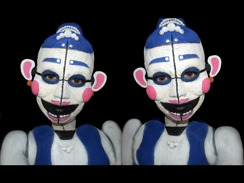 Ballora (Five nights at freddys sister's location) - Mask Makeup Tutorial
