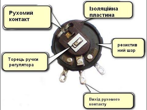 ремонт переменного резистора СП3 выключателя ВЕФ 201,202,206